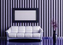 Rayas pintadas en la pared