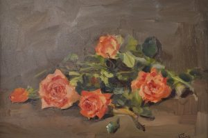 Cómo pintar rosas al óleo