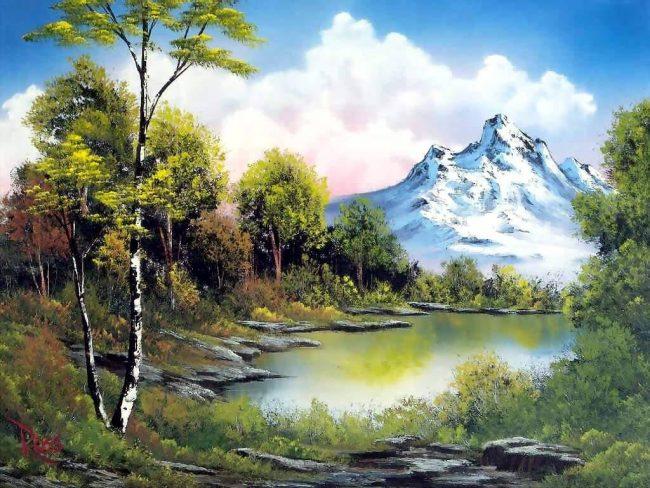 Cómo pintar un paisaje