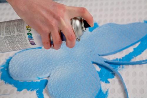 Cómo pintar telgopor