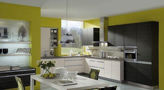 C mo pintar la cocina como - Colores de pintura para cocinas modernas ...