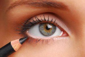 Como pintar ojos pequeños
