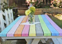 Cómo pintar una mesa de madera