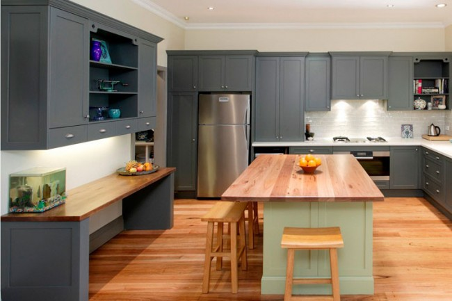 C mo pintar muebles de cocina como for Con que limpiar los armarios de la cocina