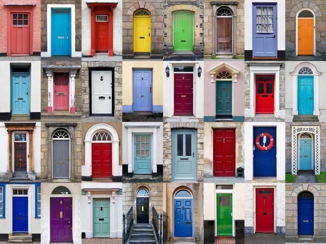 C mo pintar puertas como - Pintar cristales de puertas ...
