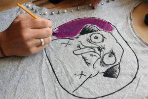 Cómo pintar camisetas