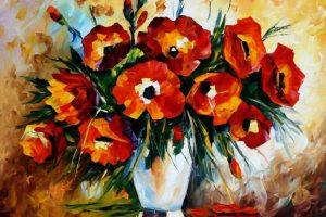 Cómo pintar flores paso a paso