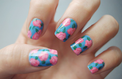 Diseño para pintar uñas