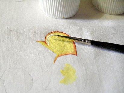 Cómo pintar tela