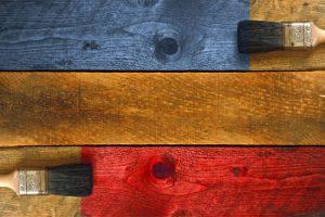 Tinte para cajas de madera
