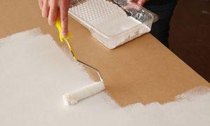 Cómo pintar mdf con rodillo